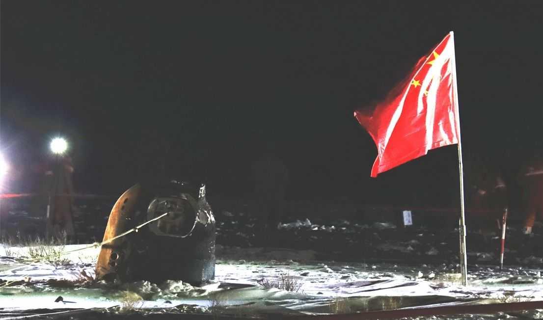 La Chine Se Dit Ouverte Au Partage Des Roches Lunaires