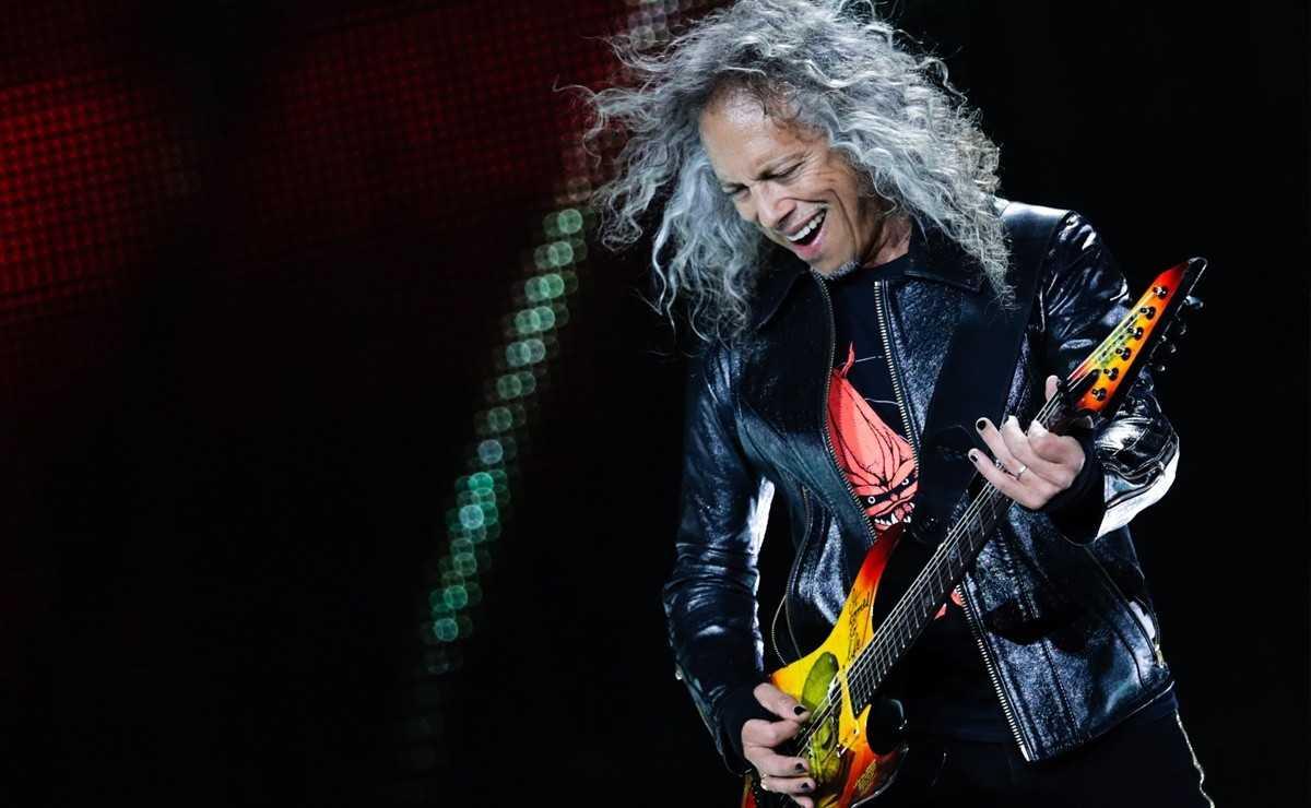 Kirk Hammett et la première fois qu'il a vu Metallica en direct