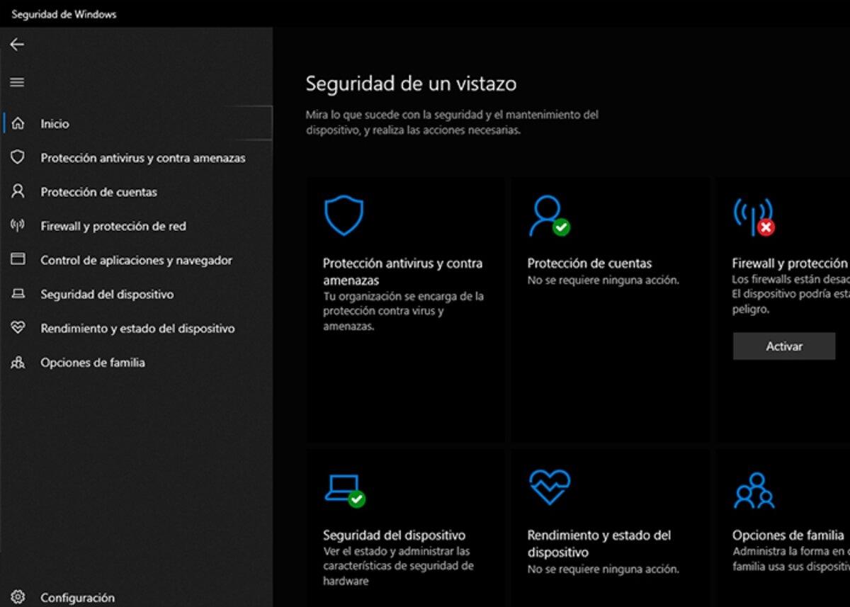 Désactivez l'antivirus de votre ordinateur