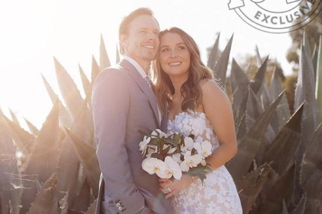 C'était le mariage de Camilla Luddington et Matthew Alan (Photo: Instagram / Camilla Luddington / People)