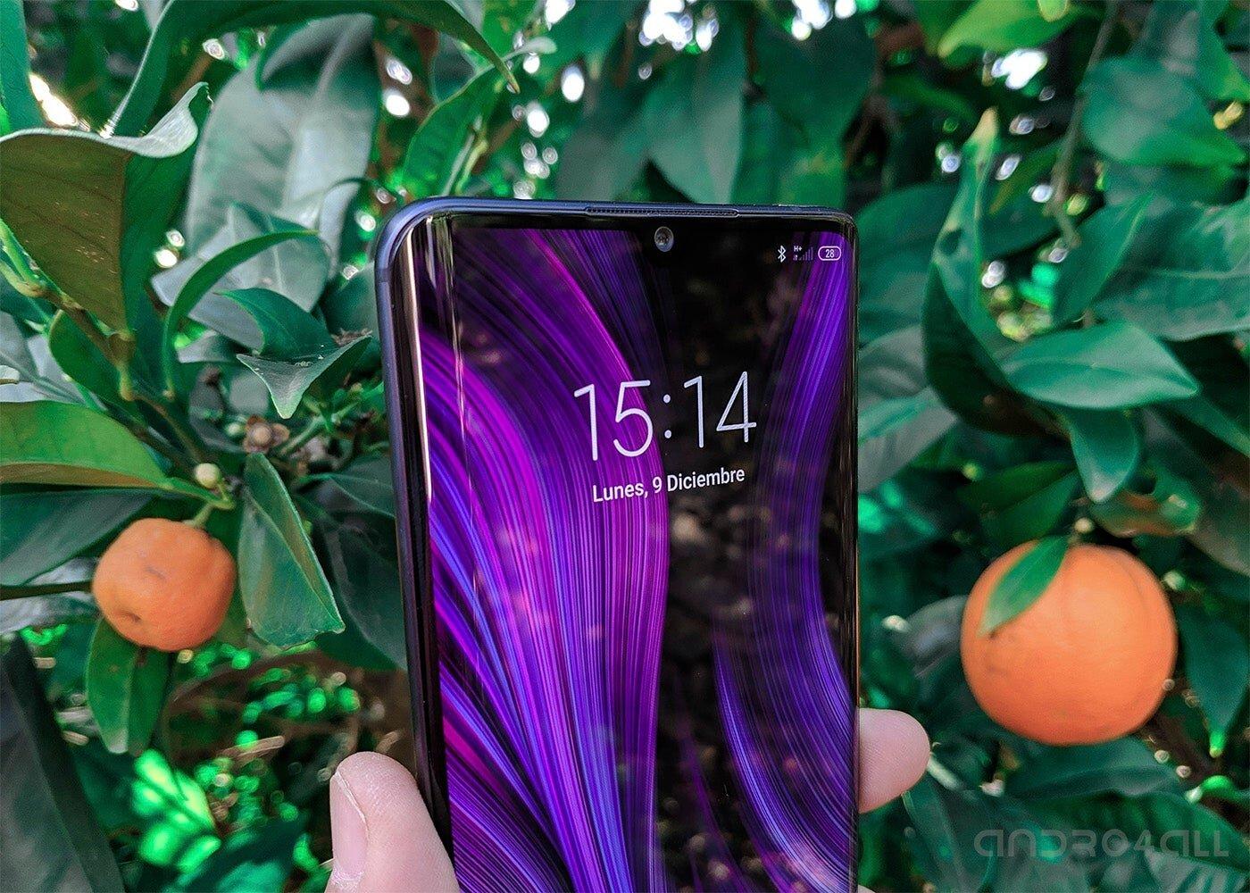 Écran de verrouillage Xiaomi Mi Note 10