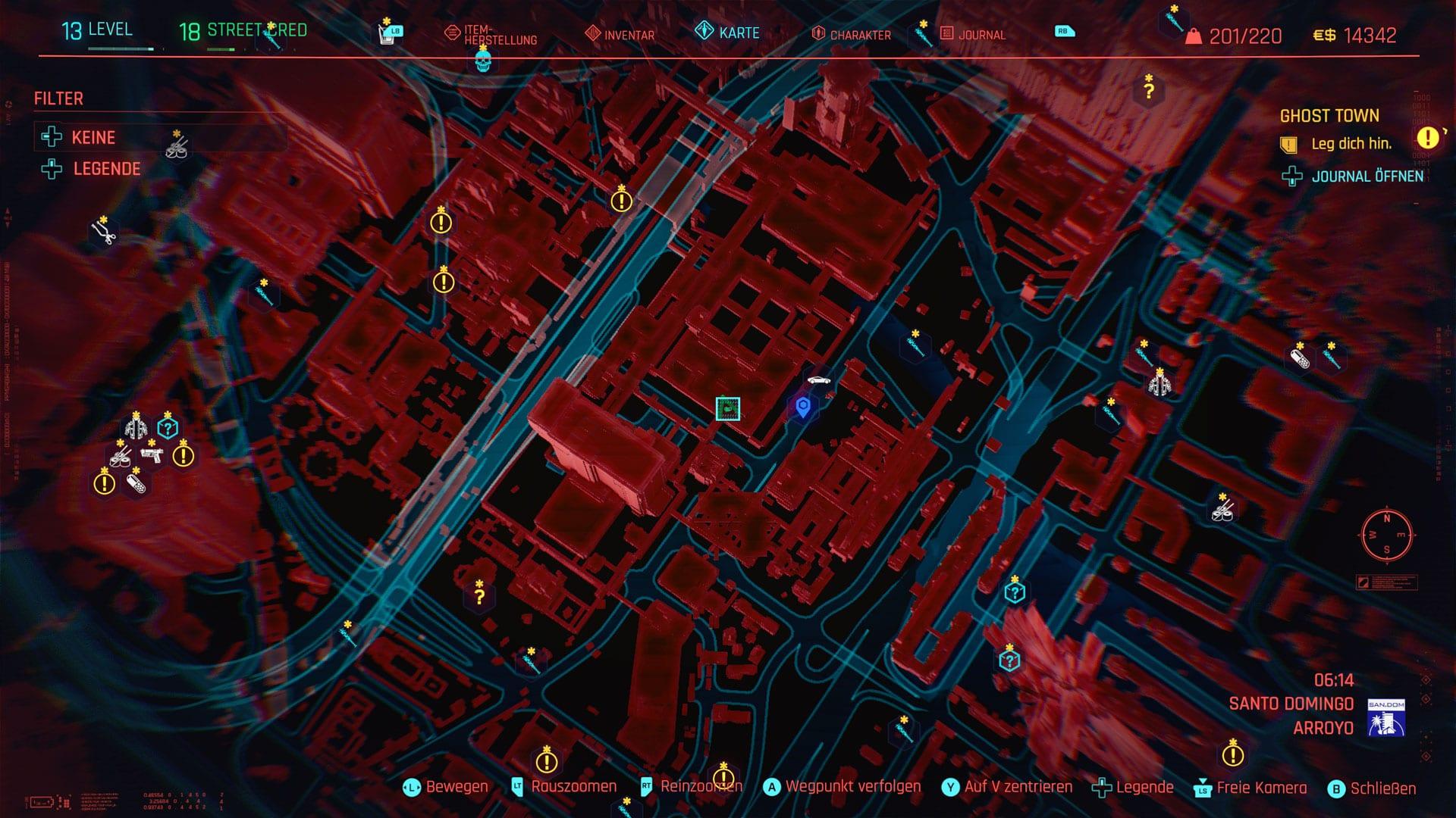 Cyberpunk 2077 - Emplacement de la nourriture pour chat