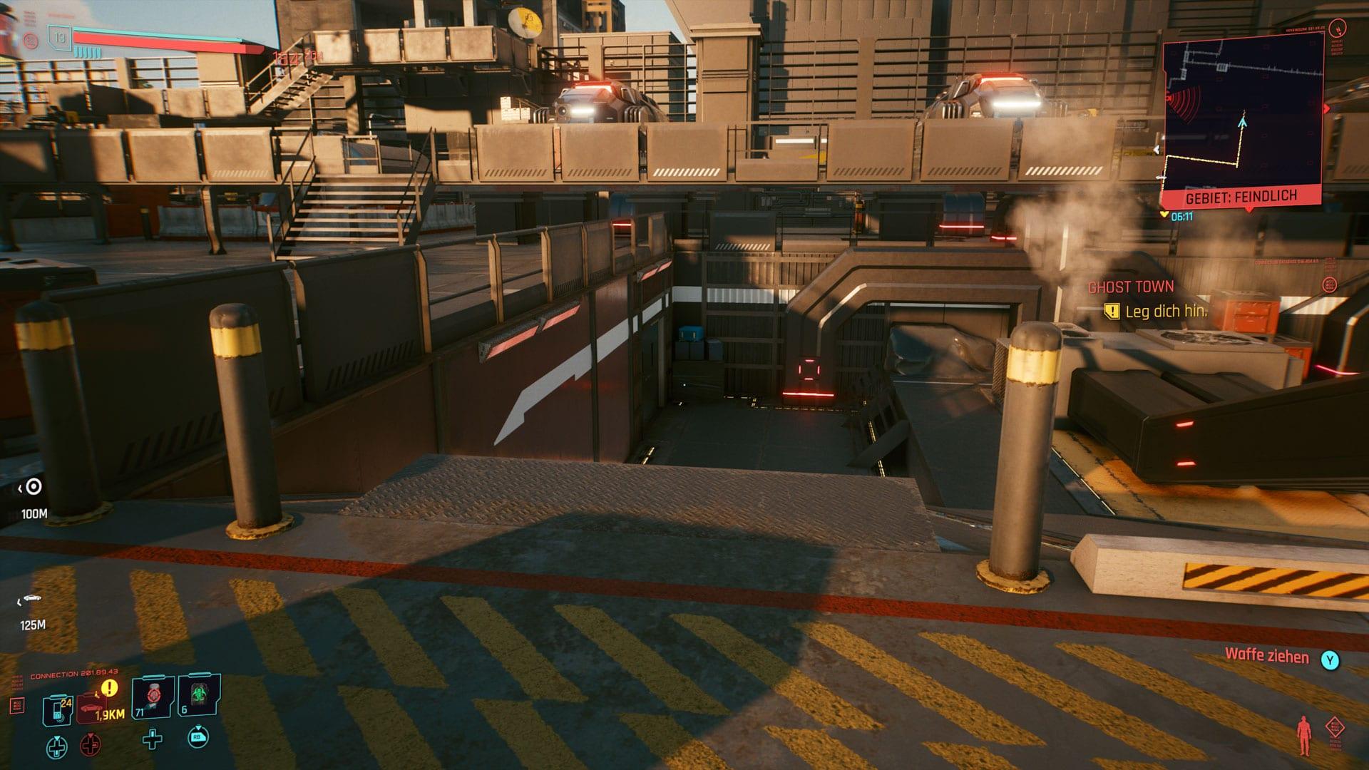 Cyberpunk 2077 - Emplacement pour la nourriture pour chat