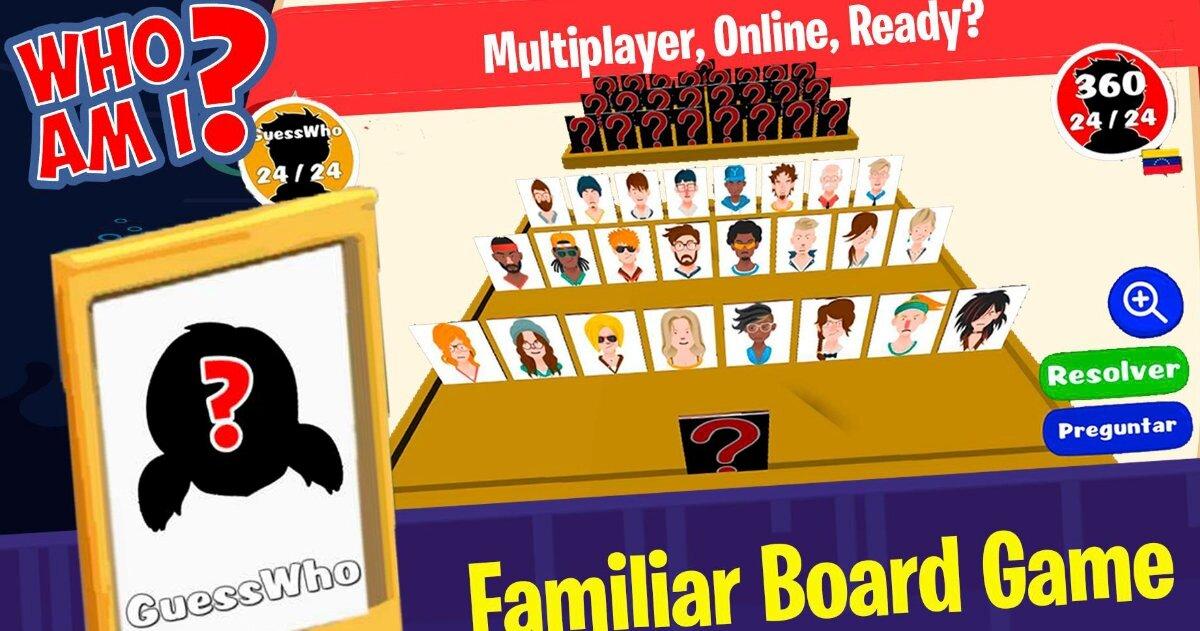 Un plateau avec des personnages, certains cachés que les joueurs devront deviner.