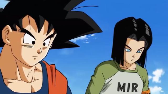 Android 17 rencontre Goku pour la première fois (Photo: Cartoon Network)