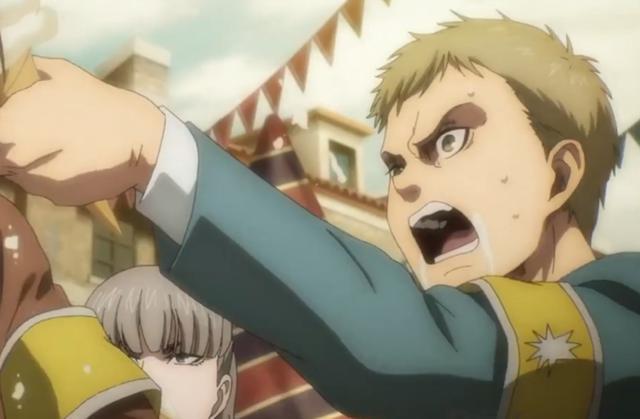 """""""Shingeki no Kyojin"""" 4x04: Falco veut surpasser Gabi (Photo: Crunchyroll)"""