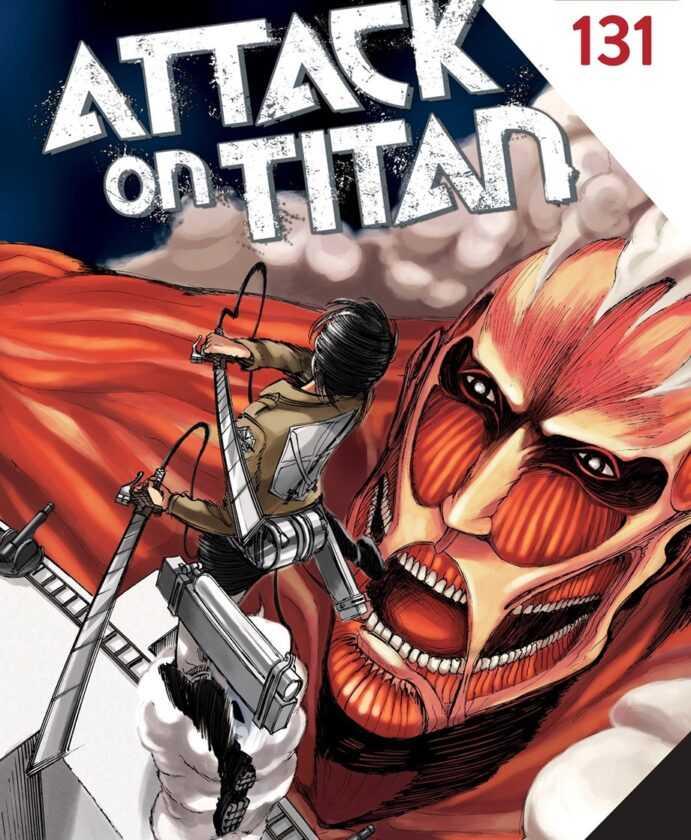 Attack on Titan Chapitre 136 pour se concentrer sur la guerre finale des Titan, date de sortie révélée