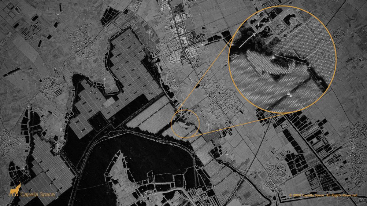 Capella Space Dévoile Des Images Radar Ultra Nettes De La Terre