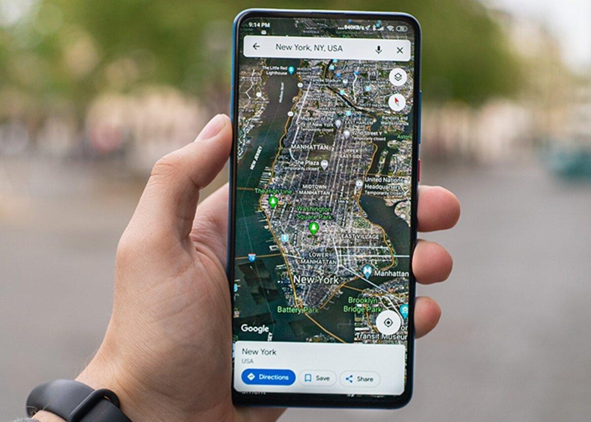 Comment mettre les coordonnées dans Google Maps sous Android