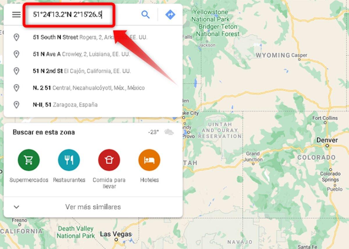 Comment mettre les coordonnées dans Google Maps sur les ordinateurs