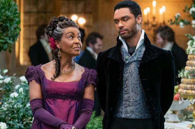 "Adjoa Andoh joue Lady Danbury dans ""Bridgerton"" (Photo: Netflix)"