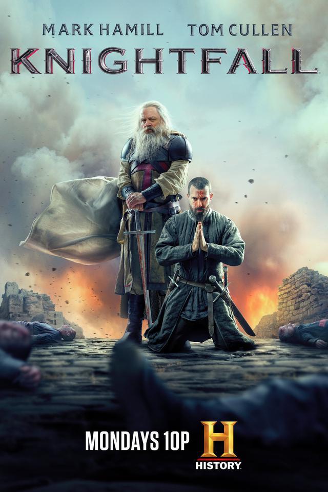 """""""Knightfall"""" a été annulé (Photo: Histoire)"""