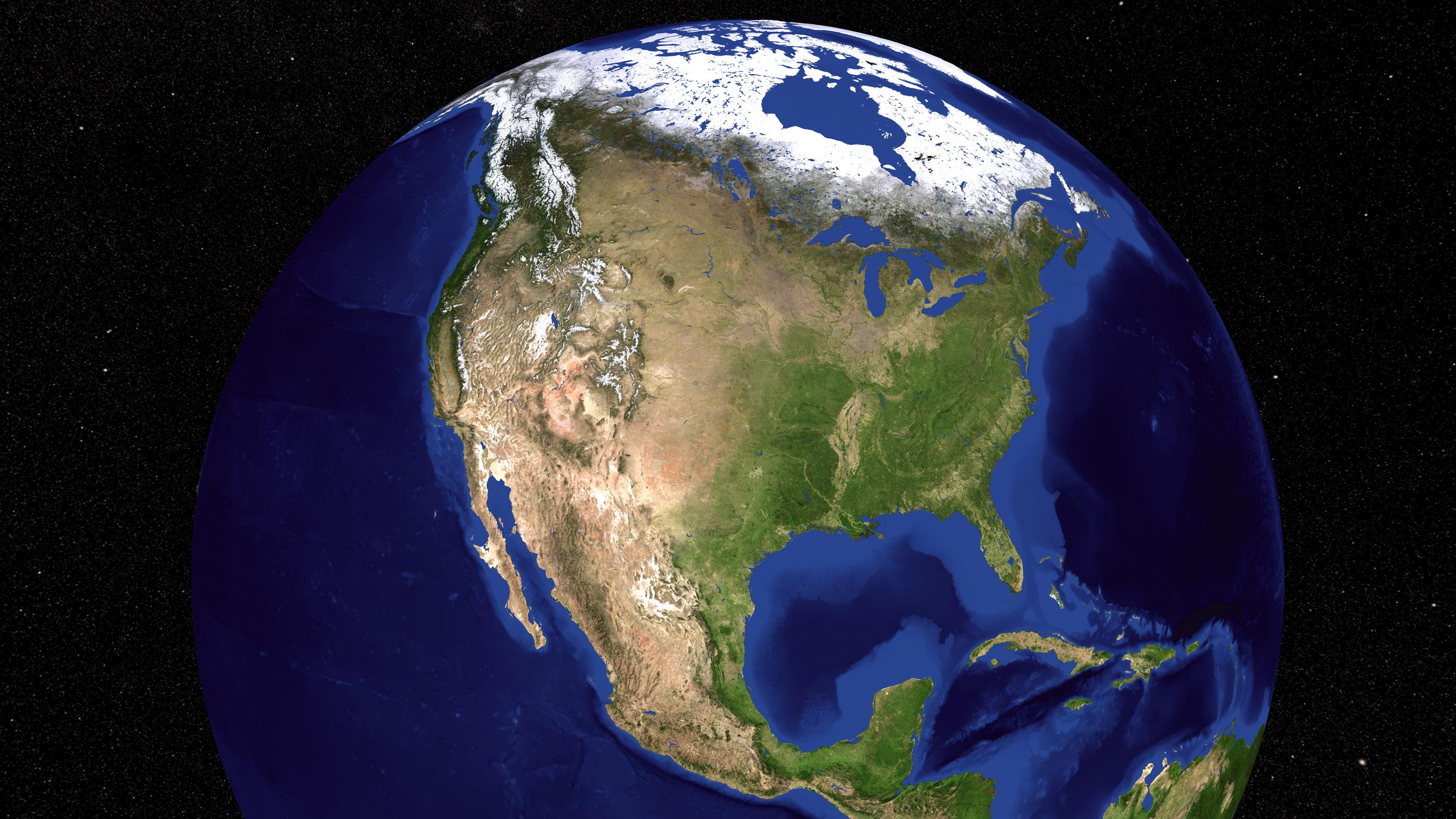 Terre de marbre bleu d'en haut.