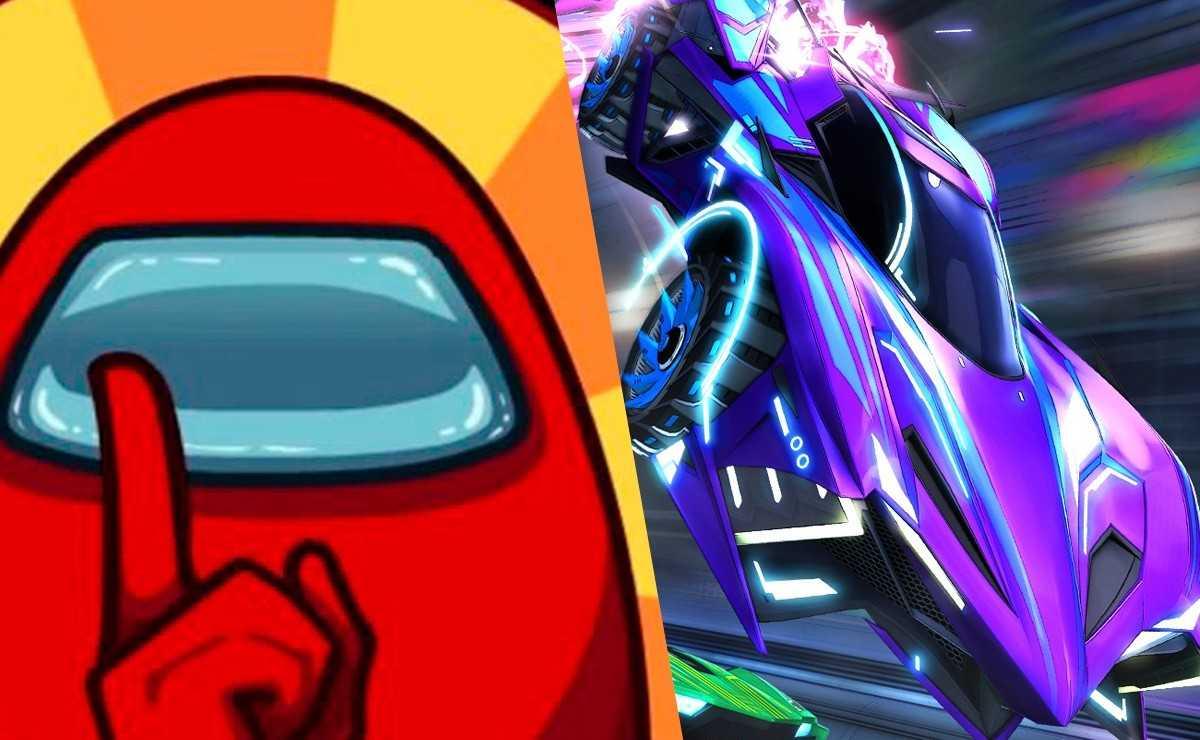 """""""Among Us"""" arrive à """"Rocket League"""" dans une nouvelle carte personnalisée"""