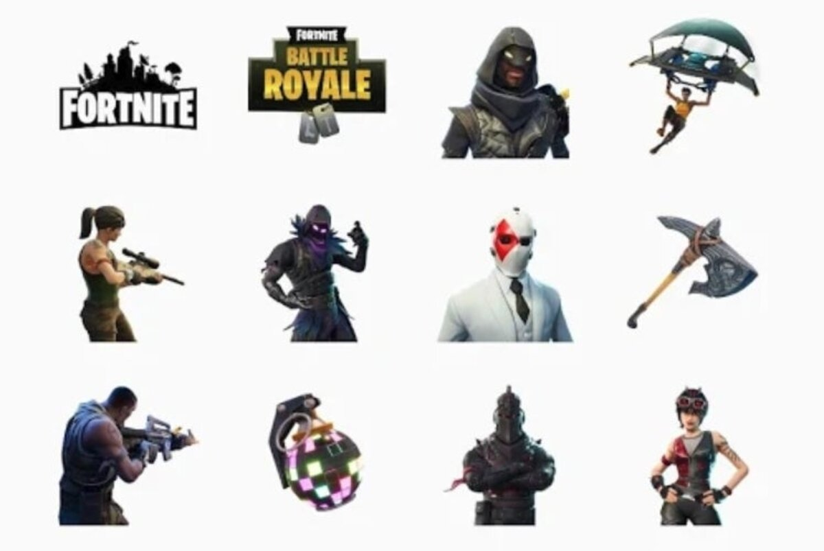 Autocollants Fortnite pour WhatsApp