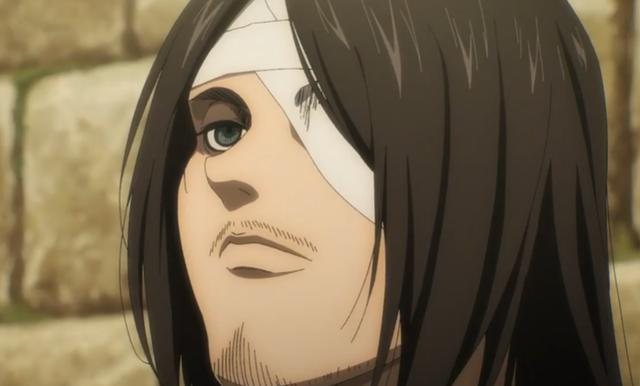 Eren rencontre son grand-père à l'hôpital (Photo: Crunchyroll)