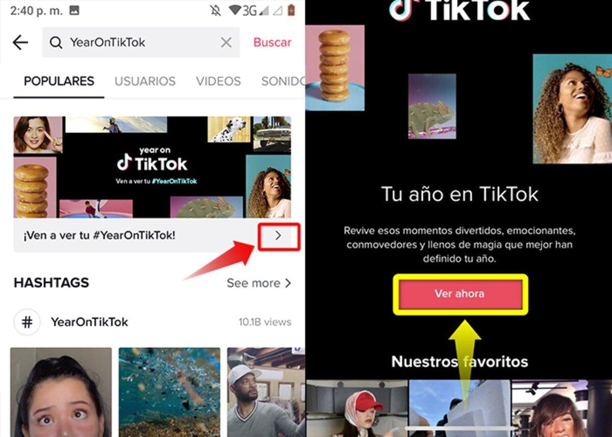 Vous pouvez donc créer et partager votre résumé annuel de TikTok