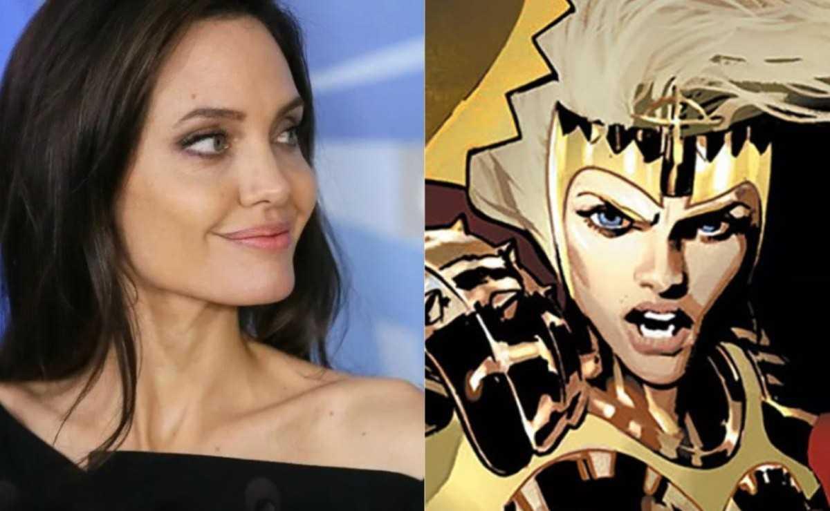 """""""Eternals"""": une figurine révélerait le rôle d'Angelina Jolie"""
