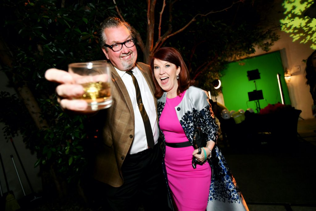 Chris Haston et Kate Flannery