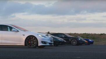 La Lamborghini Huracan Performante Affronte La Concurrence. Imaginez Le Résultat?