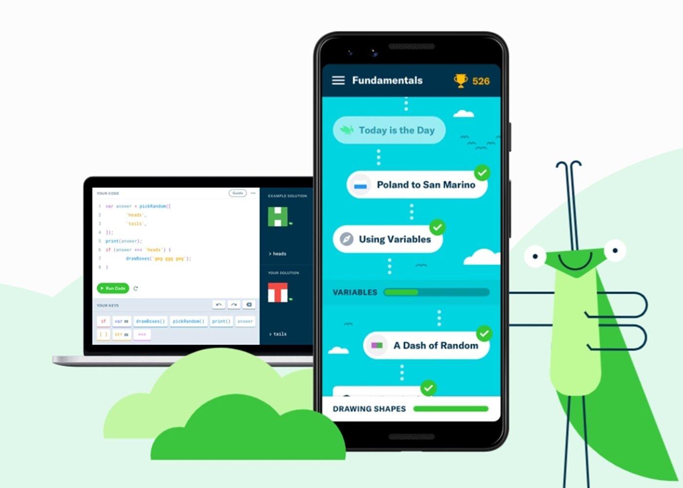GrassHopper pour Android