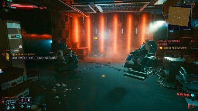 Cyberpunk 2077 - Mission: affaires sales