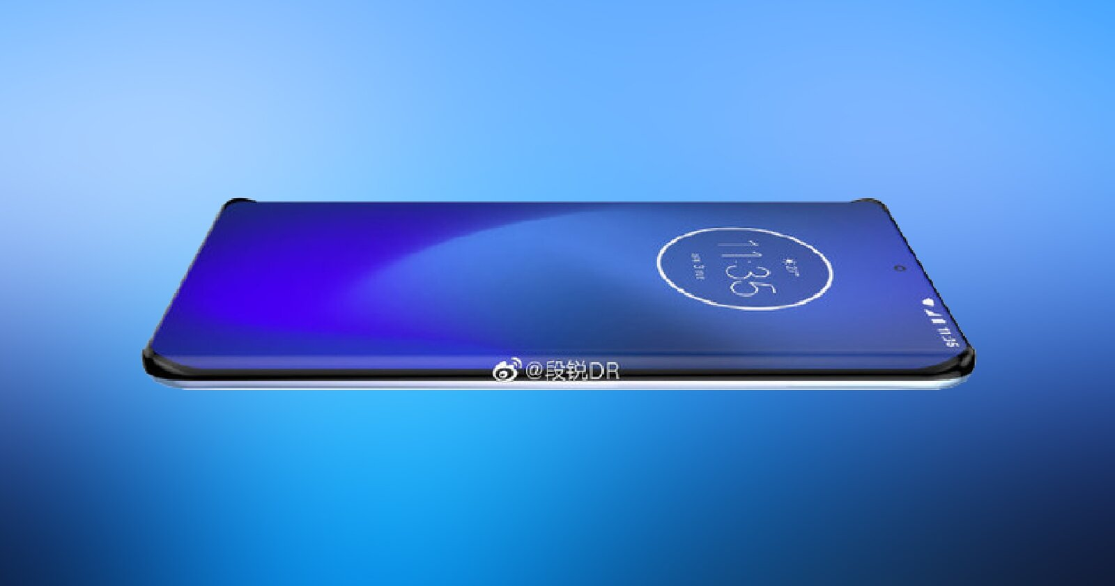 Motorola avec écran incurvé