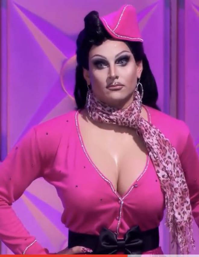 Le visage de Jan fendillé |  RuPaul's Drag Race saison 12