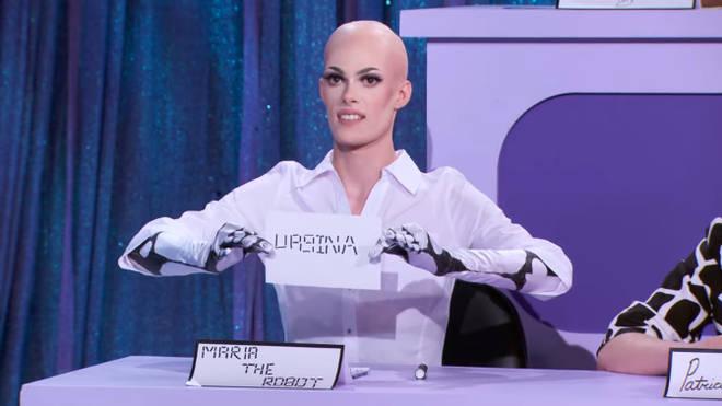 Gigi Goode comme Maria the Robot Snatch Game - RuPaul's Drag Race saison 12