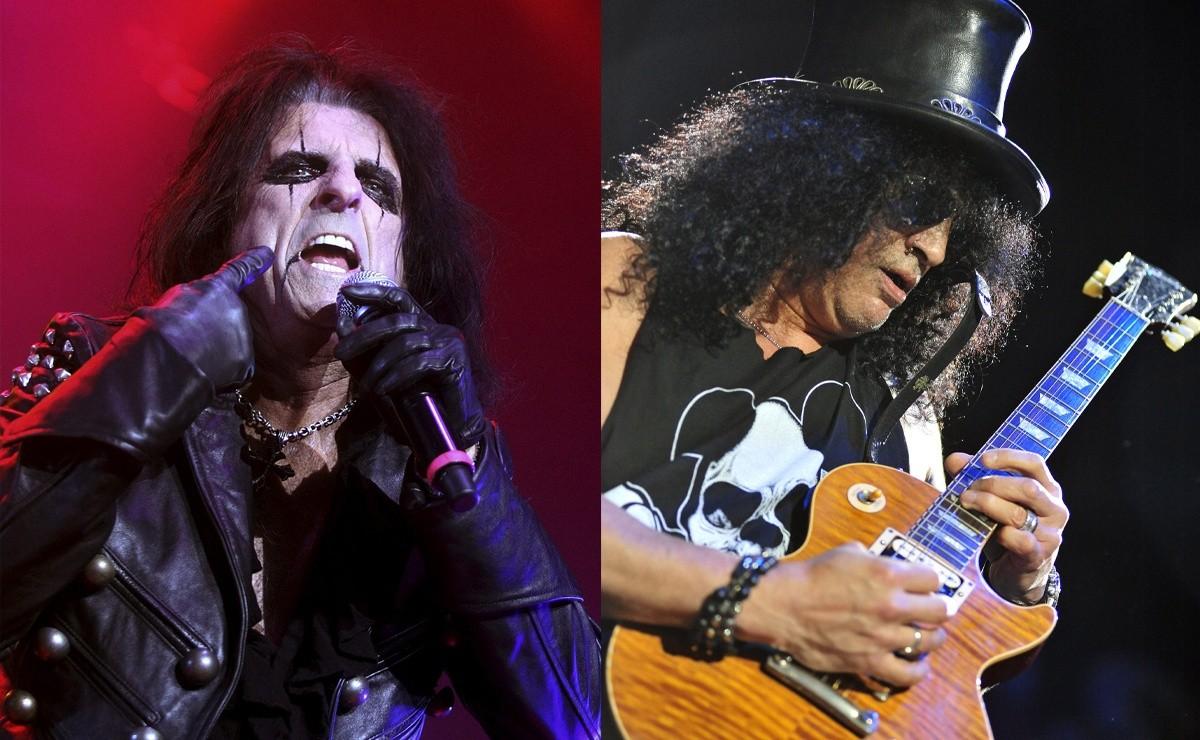 Slash et Alice Cooper jouent dans un nouveau documentaire, 'Rock Camp'