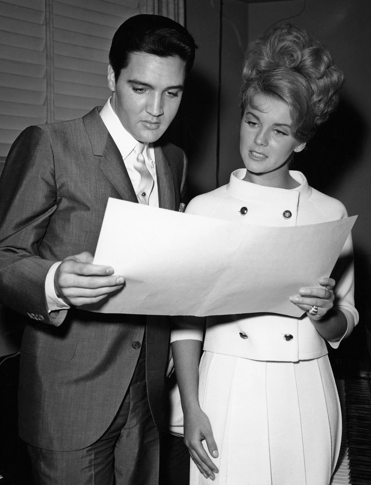 Elvis Presley et Ann-Margret