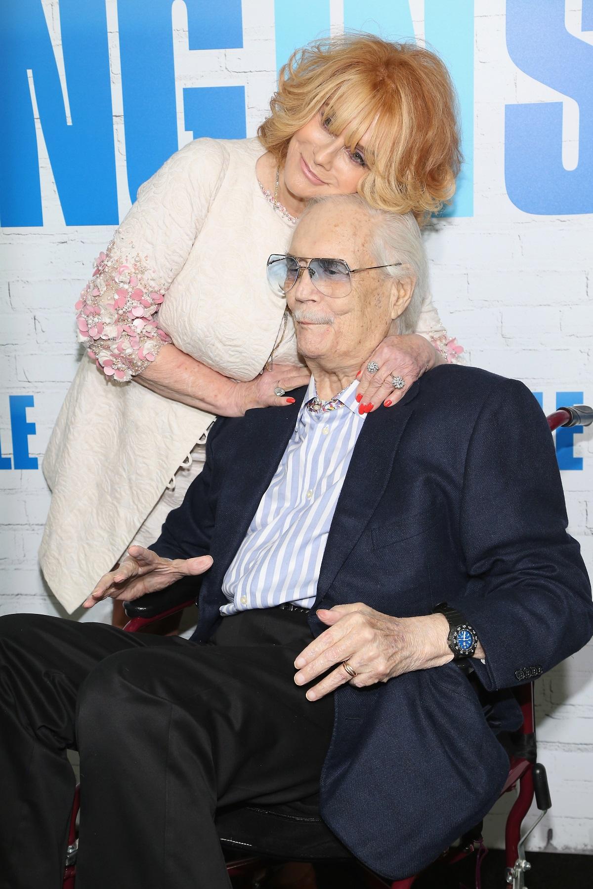 Ann-Margret et Roger Smith en 2017