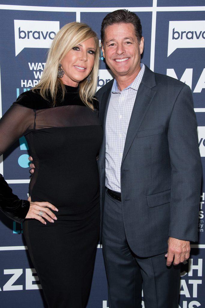 Vicki Gunvalson et Steve Lodge