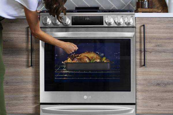 Ces 2021: Lg Présente Une Cuisinière Avec Four à Vide
