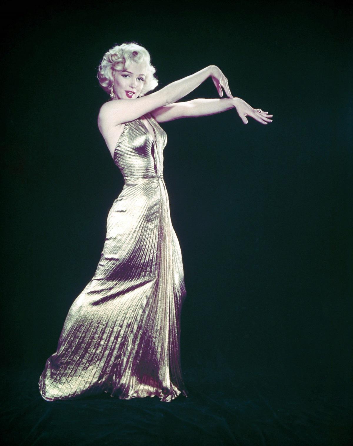 """Marilyn Monroe dans """"Les hommes préfèrent les blondes"""