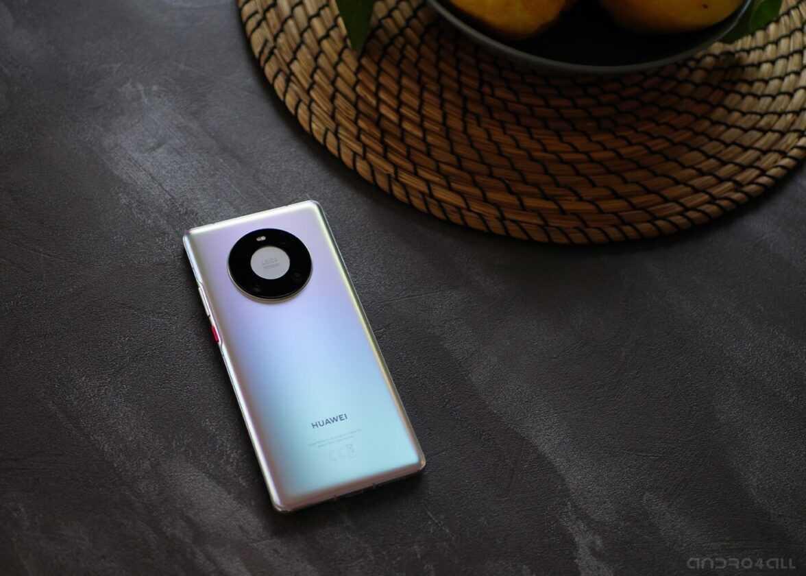 Huawei Mate40 Pro, photo de l'arrière