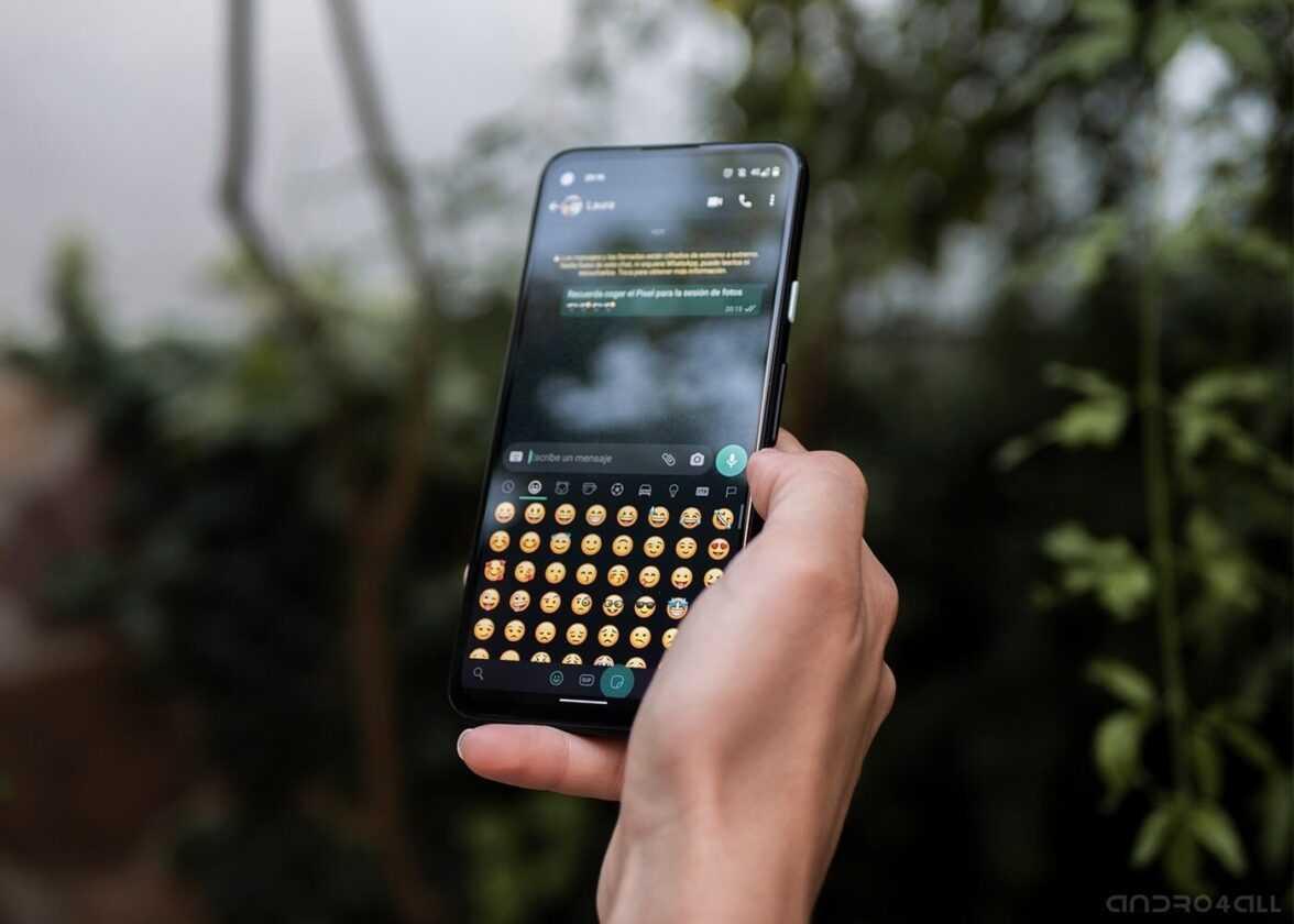Emojis dans WhatsApp pour Android