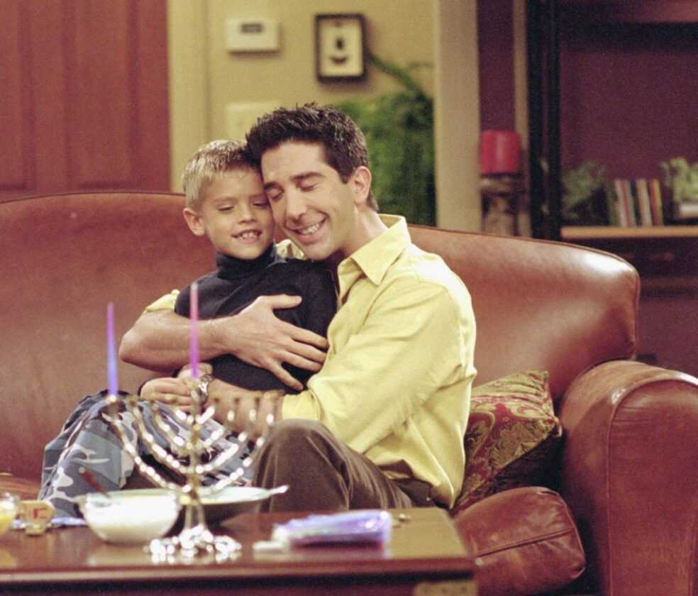 "FRIENDS -- ""The One with the Holiday Armadillo"""