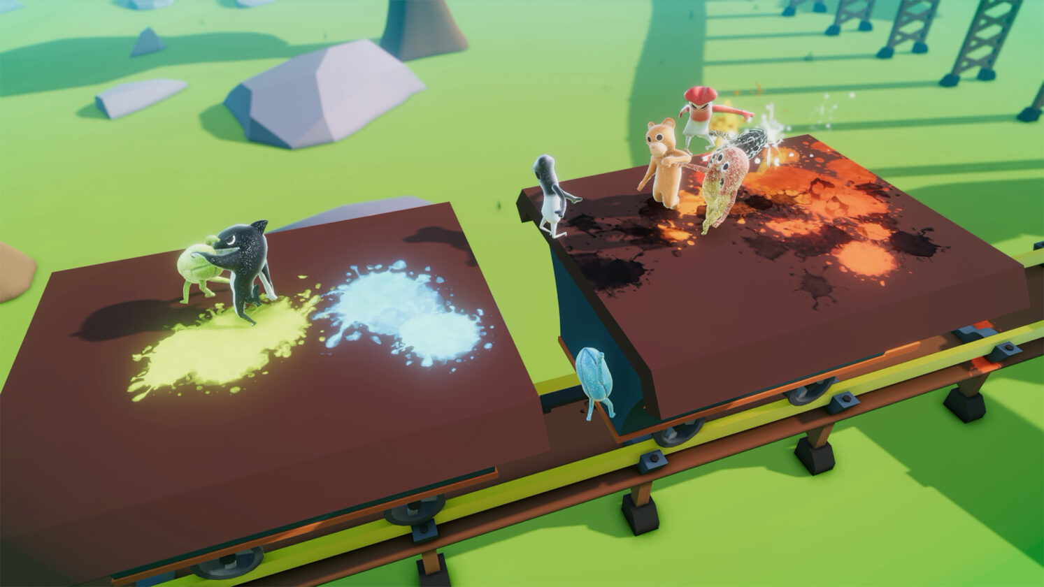 A Gummy's Life Has A Brand New Update For Its Beat-Em-Up Experience
