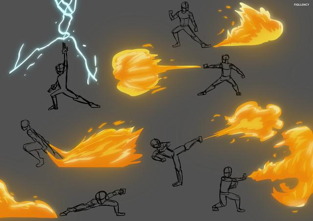 Les techniques de tir sont apprises, mais le contrôle est donné par l'intuition (Photo: Nickelodeon)