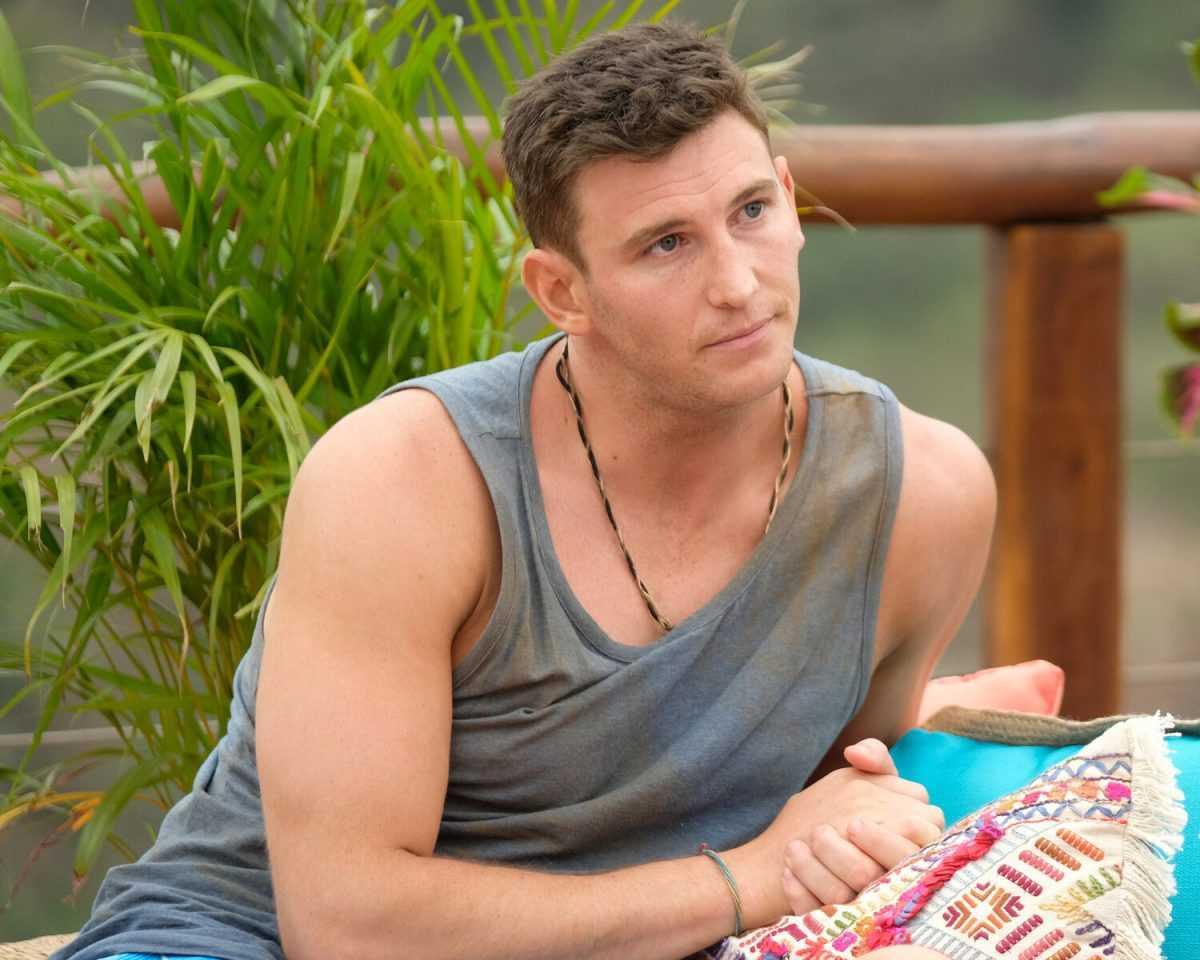 Blake Horstmann sur 'Bachelor in Paradise'