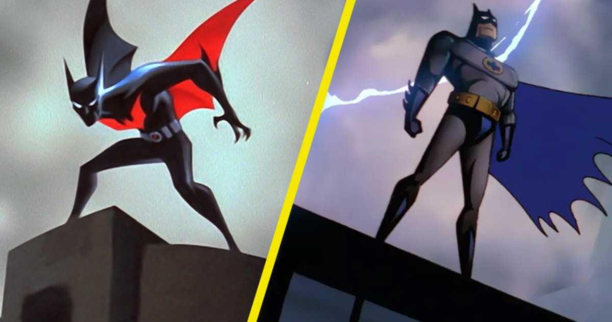 Batman: La Série Animée Et Batman Beyond Sont Diffusés Sur