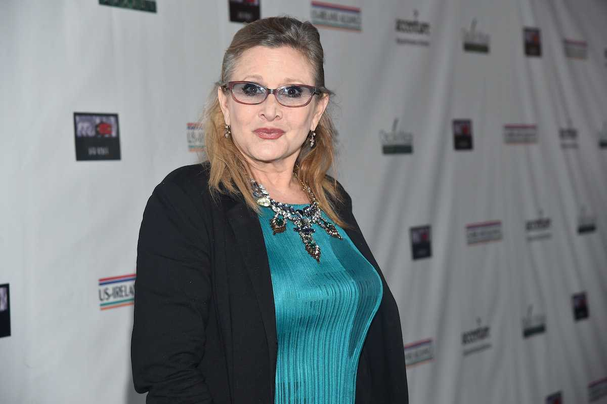 Carrie Fisher at the US-Ireland Alliance