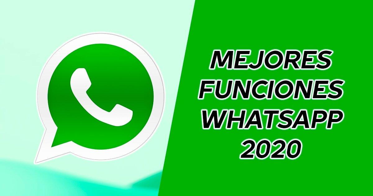 Meilleures fonctionnalités WhatsApp en 2020