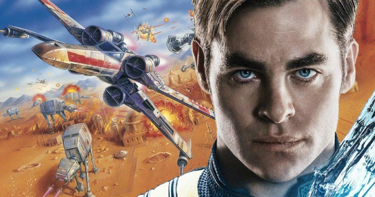 Chris Pine Connaît L'histoire De Rogue Squadron, Va T Il Diriger Le