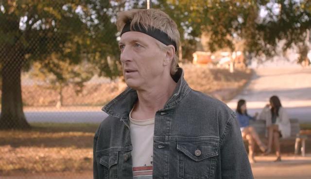Johnny Lawrence a quitté Cobra Kai deux fois (Photo: Netflix)
