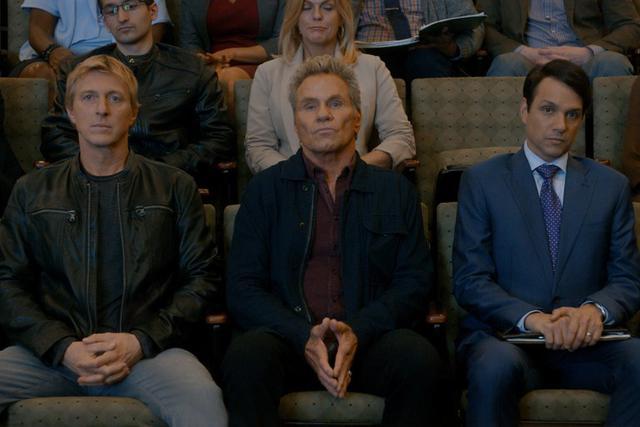 """La troisième saison de """"Cobra Kai"""" débute le 8 janvier 2021 (Photo: Netflix)"""