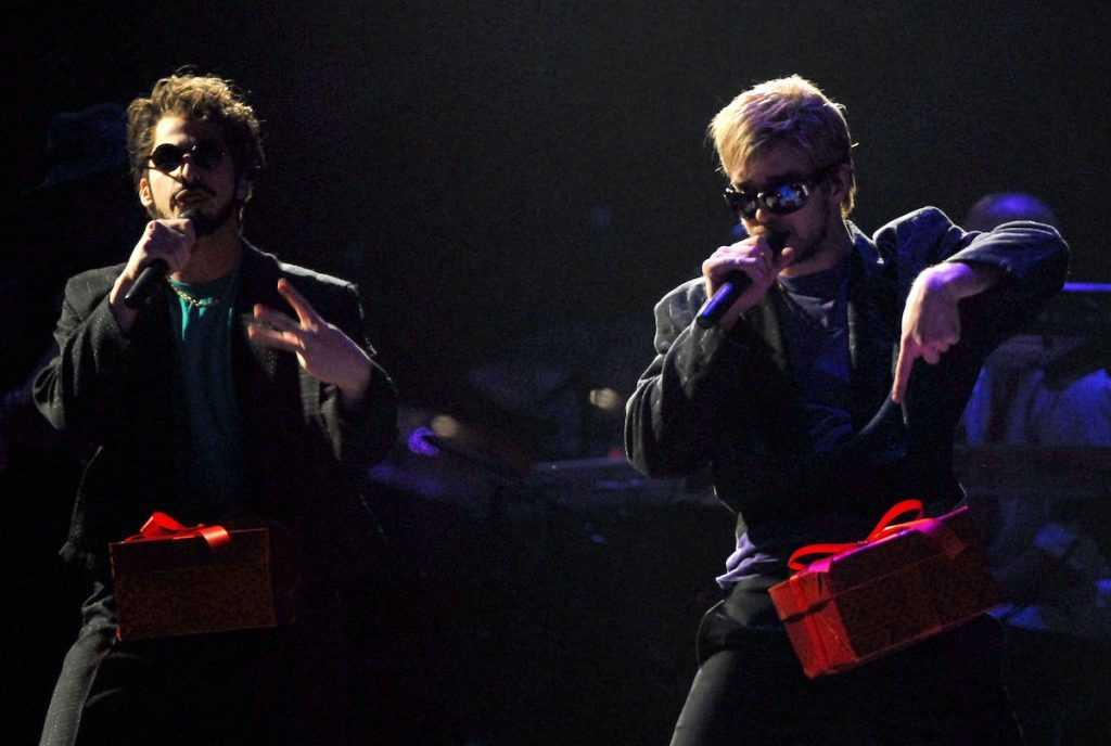 Andy Samberg et Justin Timberlake