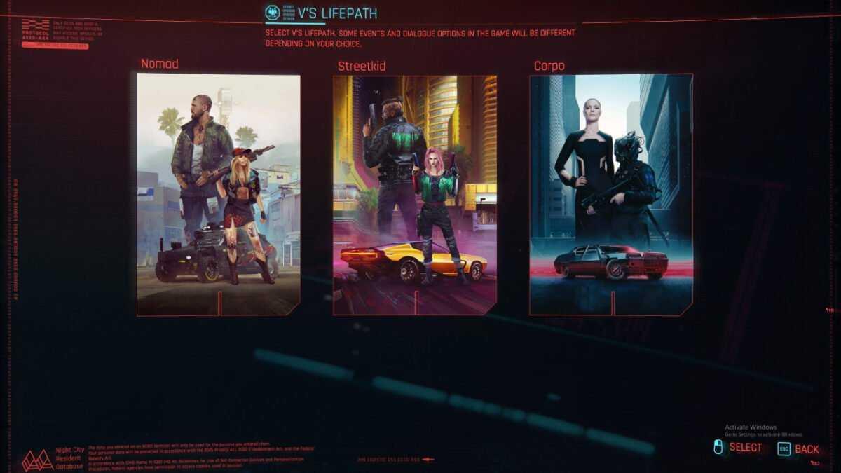 Comment Changer Votre Personnage Dans Cyberpunk 2077