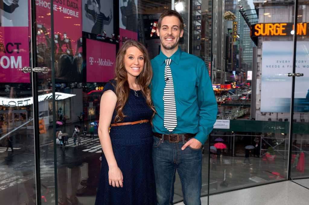 Jill Duggar and Derick Dillard visit